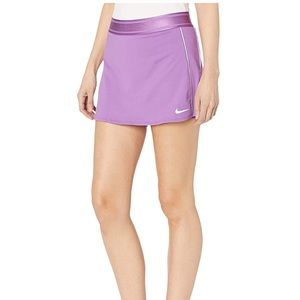 NWOT Nike Court Dry tennis skirt stretch in purple